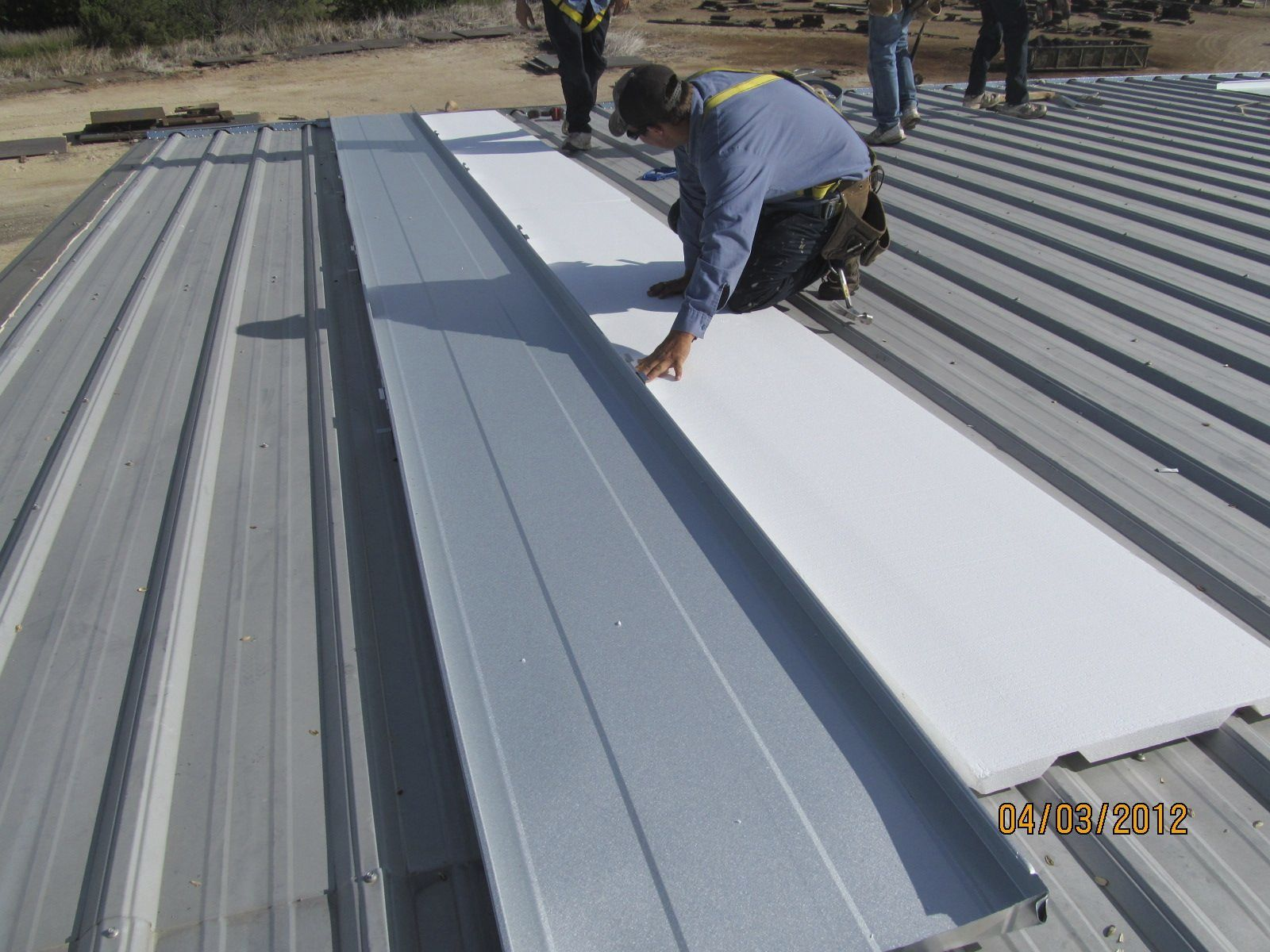Recover Metal Building Roofs With Metal Roofing