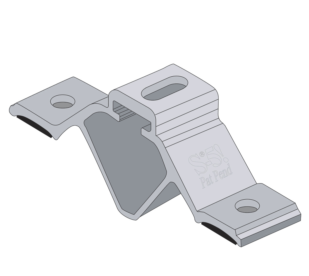 CorruBracket 100T from S-5! is designed specifically for corrugated roofing profiles that are common in North America.