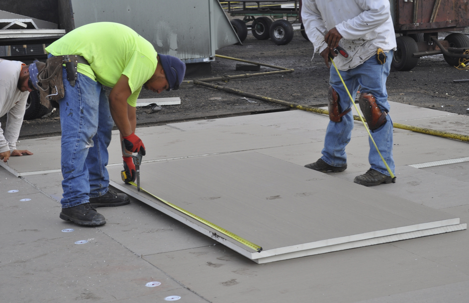 Polyisocyanurate Insulation Provides A Substrate For The Waterproofing  Membrane And Thermal Resistance.