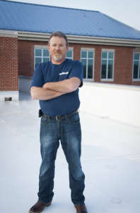 This year, CentiMark's Scott Luck, production foreman, Canonsburg, Pa., was recognized by the roofing industry for his 22 years' experience, excellence in roofing, and knowledge of first aid and roof safety.