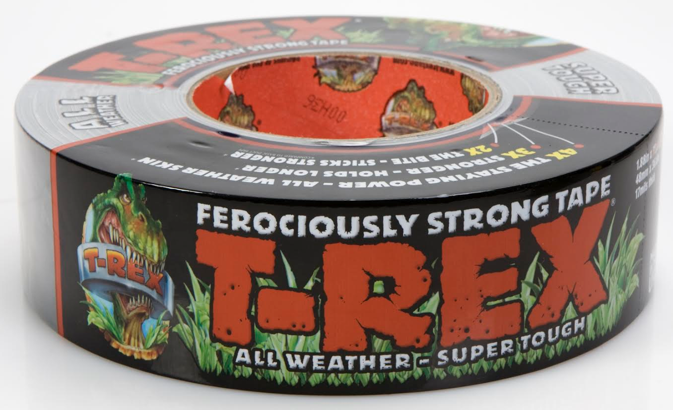 T-REX Tape is formulated with durable, extra-thick, sun-resistant materials to work longer and hold stronger than other utility tapes, in all kinds of weather.