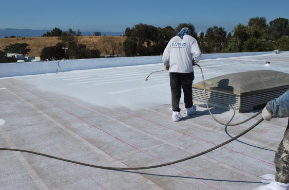The Metacrylics Roof Restoration System is an alternative to a complete roof replacement and tear-off.