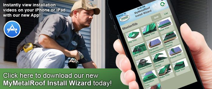 Union Corrugating Co. has released its MyMetalRoof Install Wizard for iPhone and iPad.