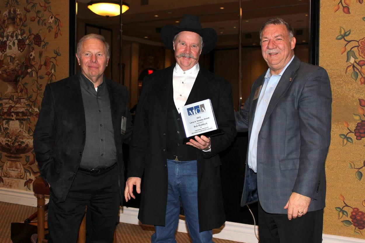 S-5! founder and CEO, Rob Haddock, has been named the 2015 recipient of the prestigious Larry A. Swaney Award, which honors an individual in metal construction who selflessly fosters the growth and betterment of the industry.