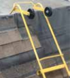 The Ridge Vent Chicken Ladder Hook #11611from Acro Building Systems.