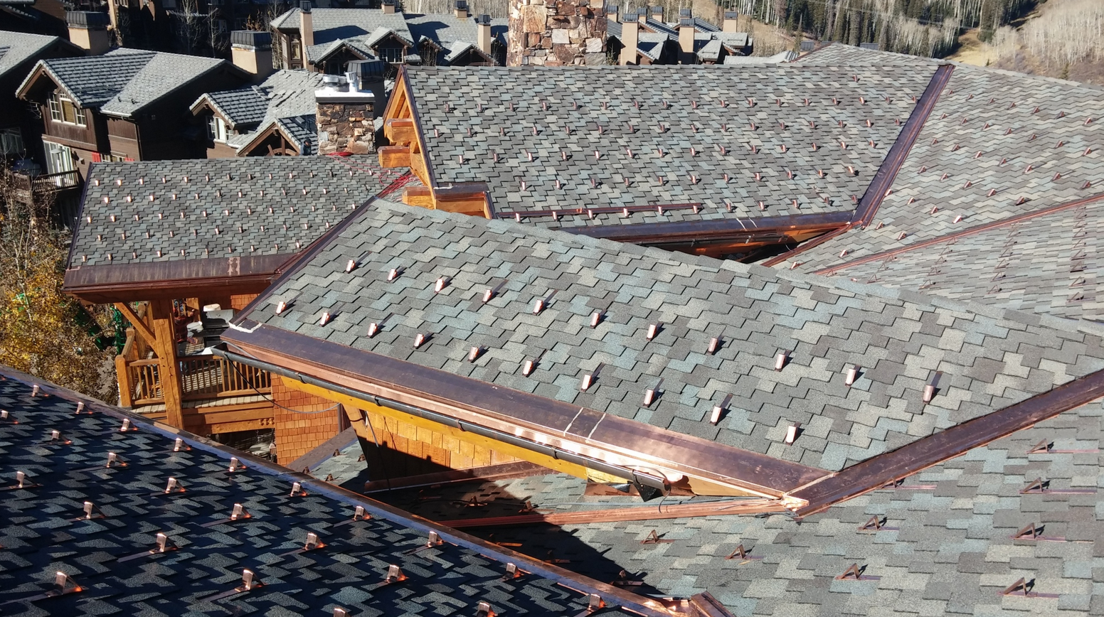 The Concrete Tile Roof And Poorly Ventilated Deck Were Causing Major  Problems For The Building Owner