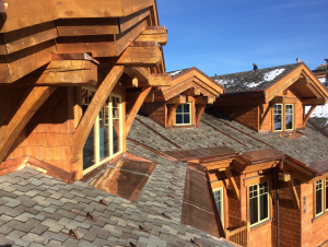 Over the span of six months, IronClad Exteriors tore off the tile roof and installed a system they had used many times to help homeowners in the area protect their homes from ice and snow.