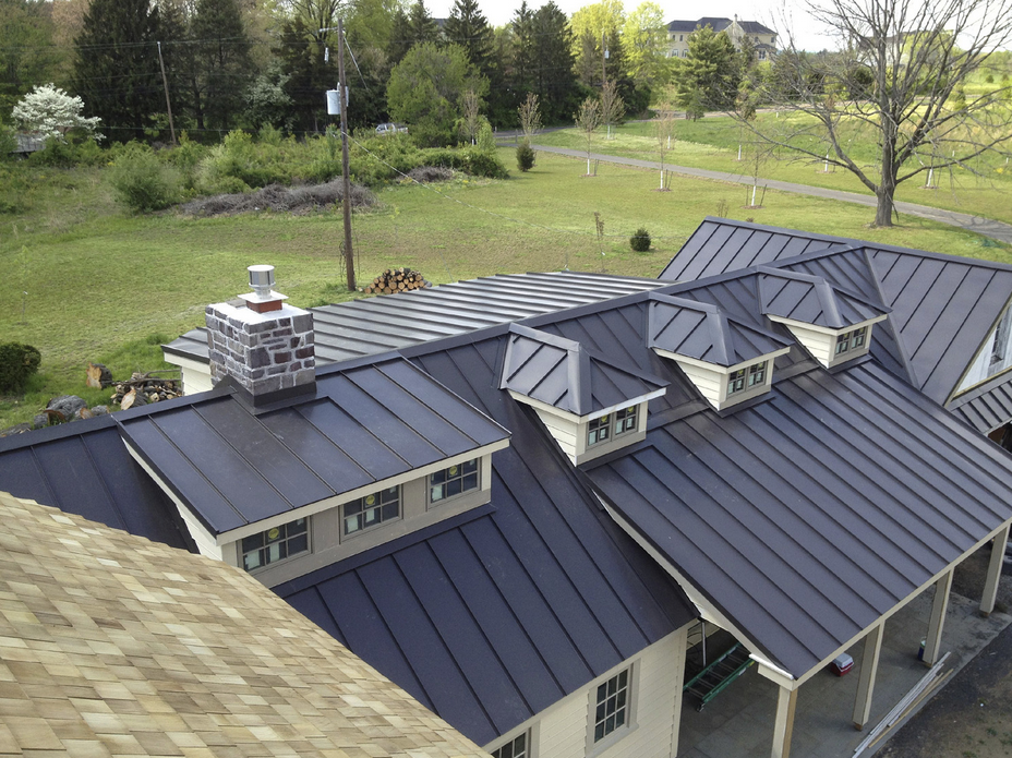 Z Closure Ventilates Peaks Of Standing Seam Metal Roofs