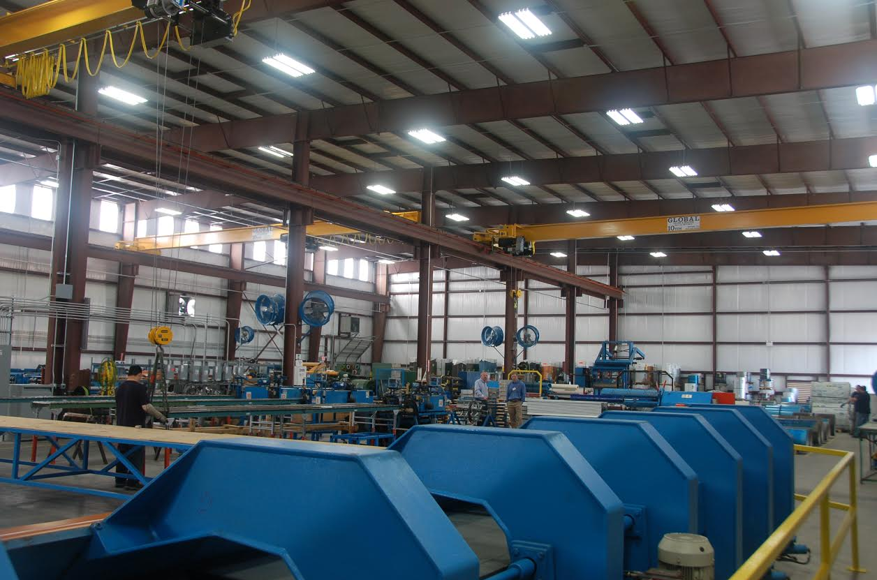 McElroy Metal operations in Houston moved into a manufacturing plant and attached service center to better serve its large customer base in southeast Texas.