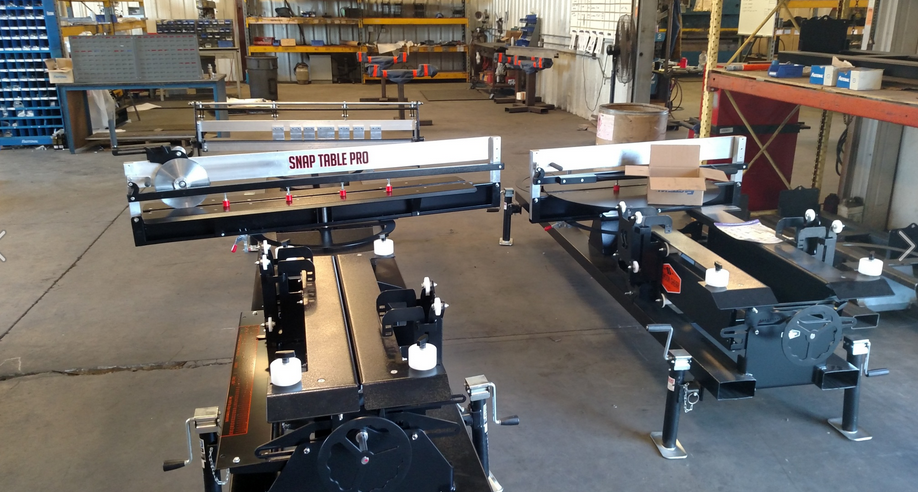 Swenson Shear's Snaptable PRO can notch, slit and hem standing-seam panels for any commercial, industrial or residential job site.