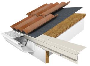 The High Back Adapter was designed to be installed with any manufacturer's roofing package, regardless of what roof or gutter and accessories your contracting firm prefers to use.