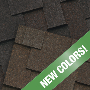 The Windsor Designer shingle line from Malarkey Roofing Products now includes two new colors.