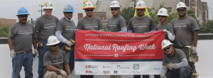 In honor of National Roofing Week—July 5-11— King of Texas Roofing Co. L.P., H&E Equipment, Rmax, Jim Whitten Roof Consultants and NRCA, along with other industry partners, donated labor, materials, expertise and additional necessities to repair the roof system at Momentous Institute, Dallas.