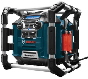 Bosch introduces the Bosch Power Box PB360C Jobsite Radio/Charger/Digital Media Stereo, which leverages signature 360-degree speakers with Bluetooth technology.