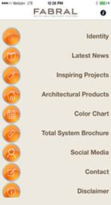 Fabral, a supplier of metal roofing and wall panels, has launched a mobile app to meet the demands of architects and contractors on the go.