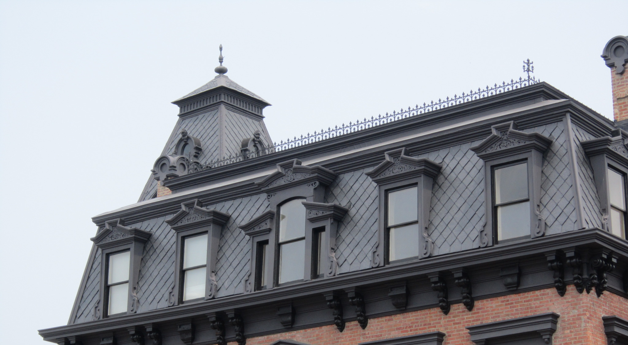 Second Empire - Mansard roof