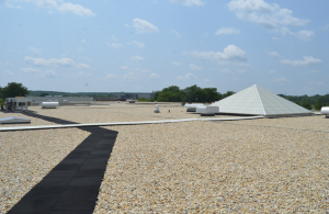 This ballasted 90-mil EPDM roof was designed for 50 years of service life. All the roof-system components were designed to complement each other. The author has designed numerous ballasted EPDM roofs that are still in place providing service.