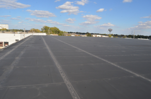 This mechanically fastened roof in northern Ohio was observed to still be functioning after 20 years of service.
