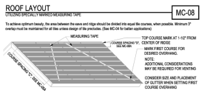 ILLUSTRATION: TRI/WSRCA CONCRETE AND CLAY ROOF TILE INSTALLATION MANUAL