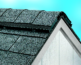 Greenawalt Roofing Co., Landisville, Pa., recommends installing Air Vent Inc.'s ShingleVent II, which, when combined with intake vents, provides an efficient and effective ventilation system to avoid ice dams.