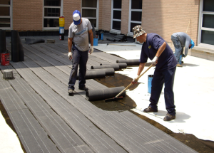 Viridian Systems has developed a variety of low-odor, solvent-free products for specialty roofing markets, such as schools, nursing homes, food producers and hospitals.