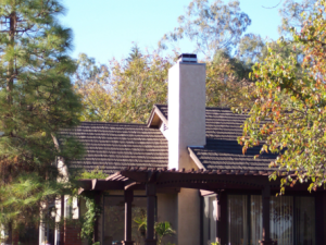 The Canyon Shake Shingle stone-coated metal roofing system from Gerard Roofing.