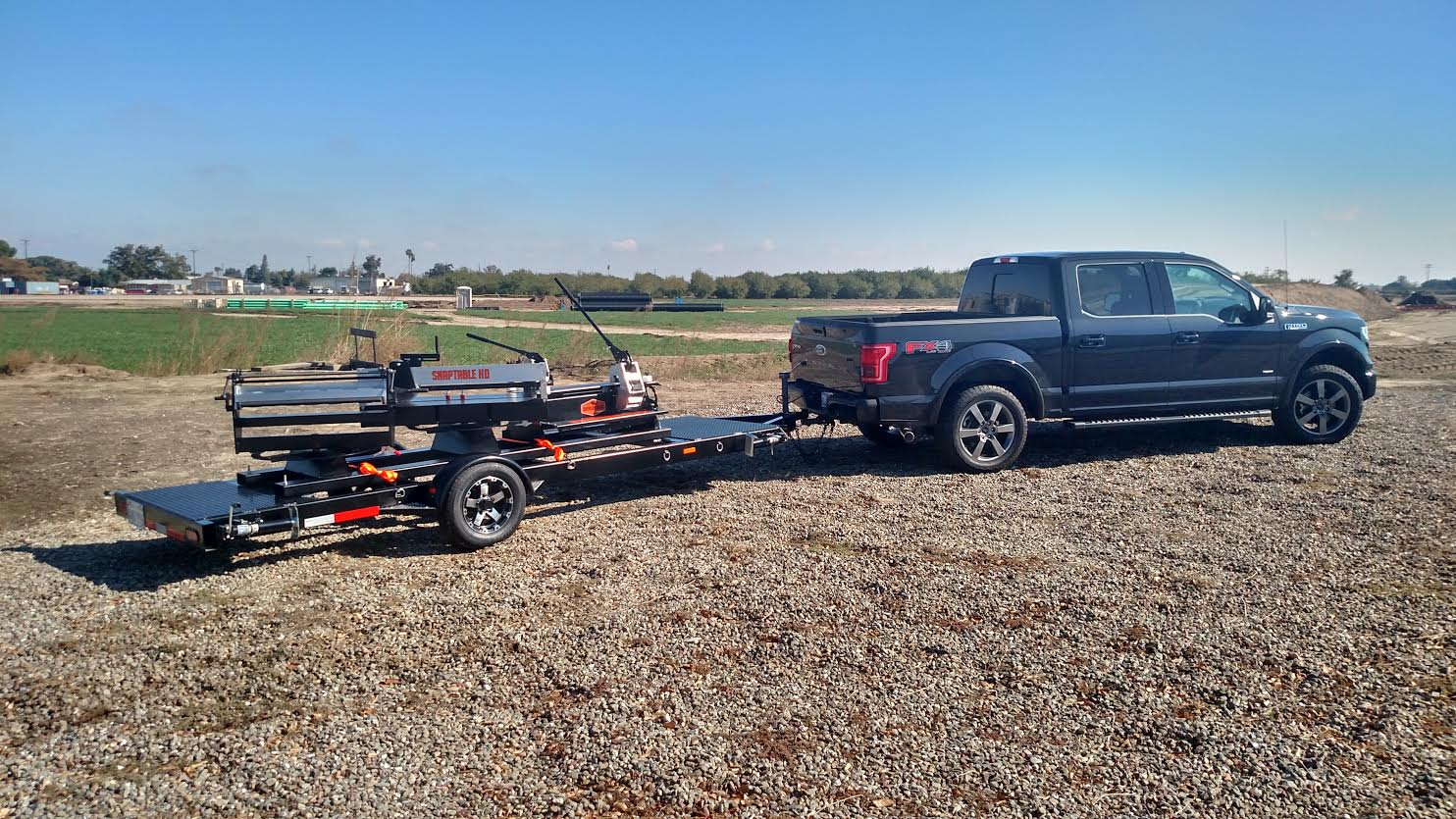 Swenson Shear releases a Trailer option for the Snap Table Collection.