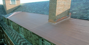 Michigan State University replaced the existing slate roof system with SOPREMA SENTINEL Copper Art to provide the desired appearance and required long-term performance.