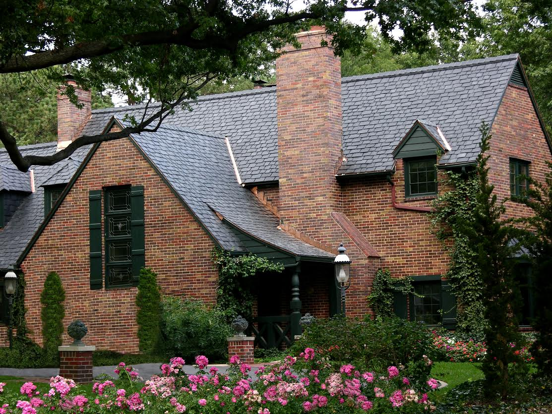 Metal archives roofing Black brick homes