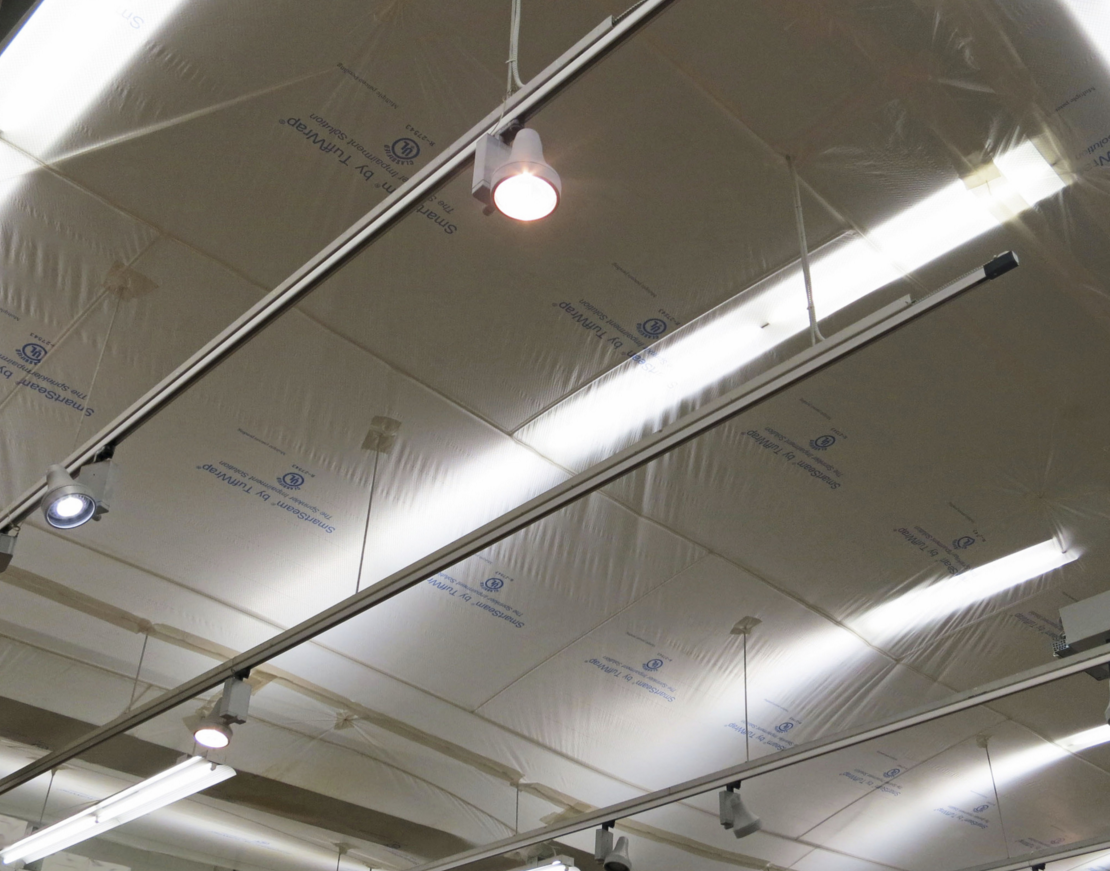TuffWrap Installations Inc. is now exclusively installing SmartSeam for interior protection during reroofing projects.