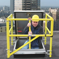 The BILCO Co. has introduced the BIL-Guard 2.0, the second generation of its safety railing system.