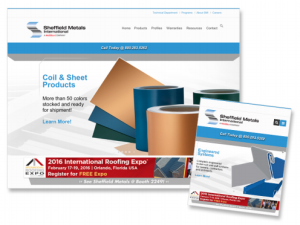 The Sheffield Metals website now suits PC and mobile users with a reactive interface design.