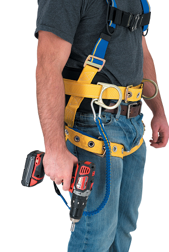 Werner Co.'s 15-pound Tool Lanyard was designed to complement a complete fall protection system and improve safety and productivity in work environments.