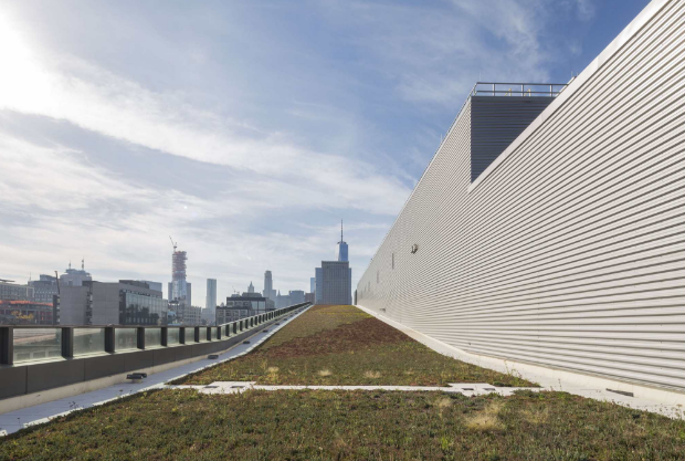 A New Department Of Sanitation Complex In New York City, Designed By  Dattner Architects With