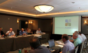 The Roofing Industry Alliance for Progress holds two member meetings each year, including its annual meeting and another held during NRCA's Fall Committee Meetings.