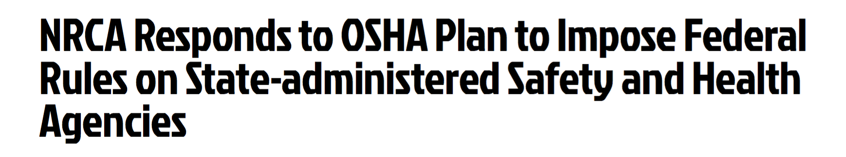 OSHA, NRCA, residential fall protection
