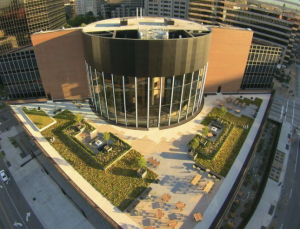 Bade Roofing was challenged with creating a rooftop garden on the building's fifth floor and reroofing its sixth floor.