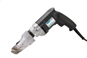 Kett Tool offers maneuverability for cutting corrugated metal with the left curved blade configuration of the KD-446L Profile Shears.
