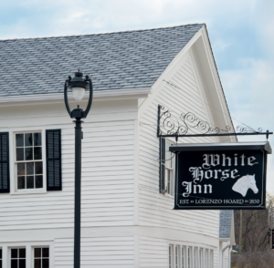 The White Horse Inn, a 164-year-old Michigan restaurant is soon to be reborn, thanks to the inspired, never-say-die efforts of a husband-and-wife restaurateur team.