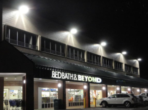 The 542 Westport Avenue Shopping Plaza, Norwalk, Conn., financed a $285,000 lighting upgrade, which reduced electricity costs by more than $17,000 per year. PHOTO: Hartt Realty Advisors LLC