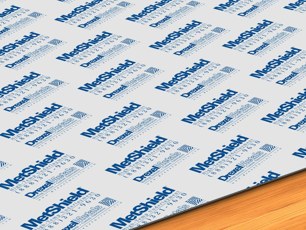 MetShield HT underlayment from Drexel Metals was issued a Product Control Notice of Acceptance (NOA No.: 16-0322.26) for use in Miami-Dade County and its municipalities.