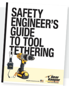 "Hammerhead Industries, manufacturer of Gear Keeper tethers and retractable lanyards, has produced its 16-page ""Safety Engineer's Guide to Tool Tethering""."
