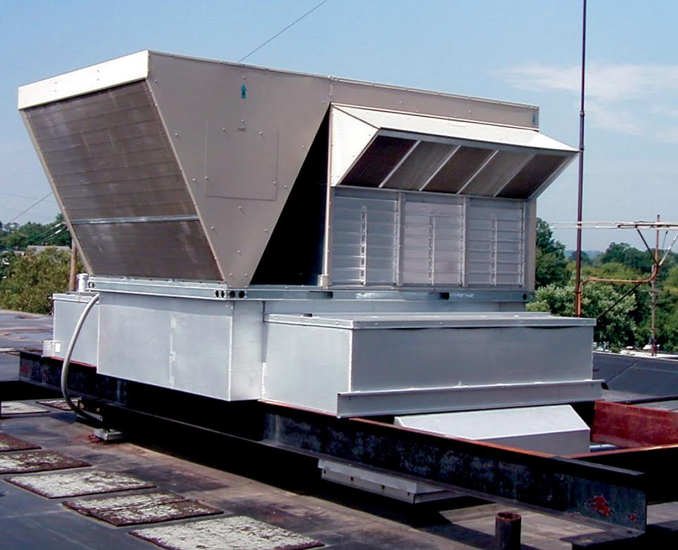 A Thybar Multi-Zone Retro-Mate is custom made to adapt your existing roof curb to a new rooftop unit.