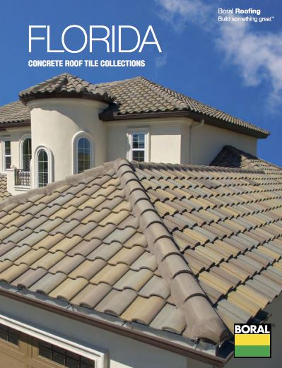 Boral Roofing Introduces Florida Concrete Roof Tile Collections Brochure Roofing