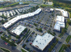 Following an analysis of the roof system, ACRC hired Advanced Roofing to tear-off and then install a new high-efficiency single-ply roofing membrane over eight different roof sections on the occupied shopping space.