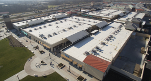 Because 60-mil TPO was specified on 99 percent of the job, a RhinoBond system was Olsson Roofing's solution of choice.