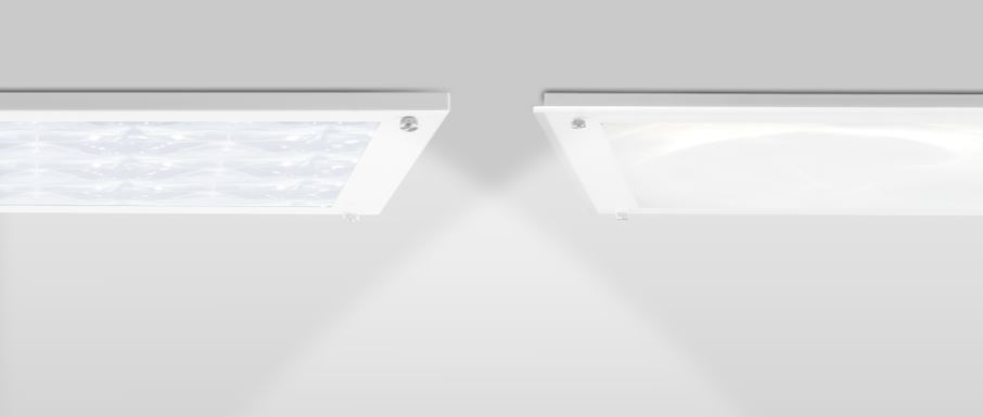 The square diffusers are available in both the Solatube 160 DS (10-inch model) and Solatube 290 DS (14-inch model) and are available in OptiView or Just Frost styles.