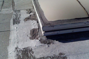 many of the skylights installed on commercial warehouse properties in the western Sunbelt states were installed improperly because they were installed first and foremost as fall protection for the open floor in the roof during construction by the builder and not by the roofer.