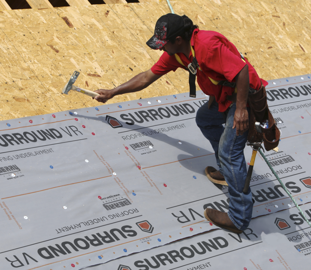 Berry Plastics Co., makers of the TYPAR Weather Protection System, recently launched Surround VR Underlayment, a synthetic roofing underlayment that reduces the amount and weight of material needed for roofing jobs.