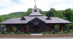 The 4,500-square-foot Tuxedo Train Station was built in 1885 and listed on the National Register of Historic Places in 2000.
